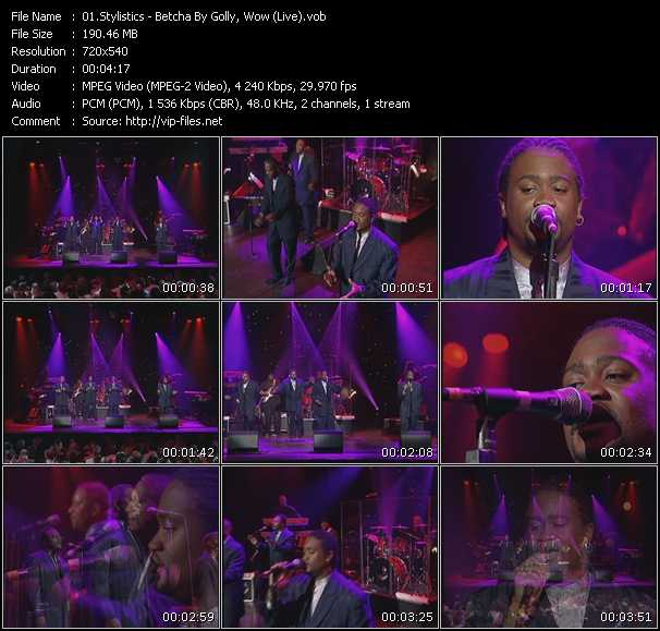 Stylistics video screenshot