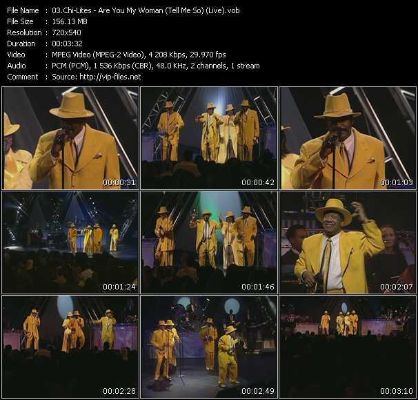 Chi-Lites video screenshot