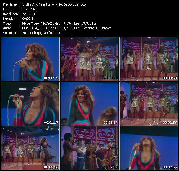 Ike And Tina Turner video screenshot