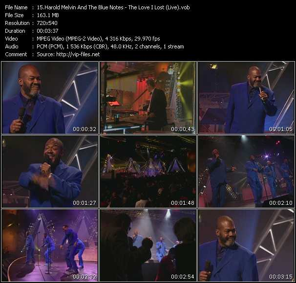 Harold Melvin And The Blue Notes video screenshot