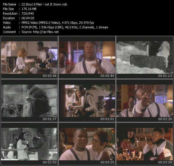 Boyz II Men video screenshot