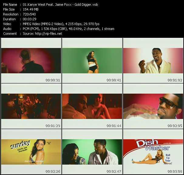 Kanye West Feat. Jaime Foxx video screenshot