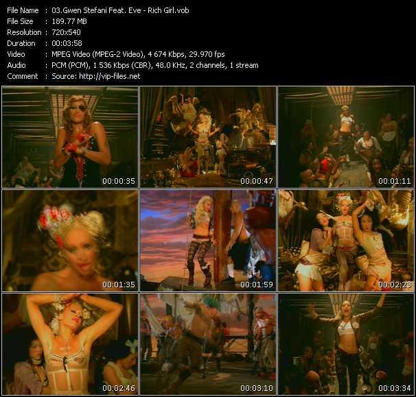 Gwen Stefani Feat. Eve video screenshot