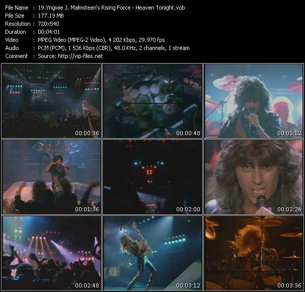 Yngwie J. Malmsteen's Rising Force video screenshot