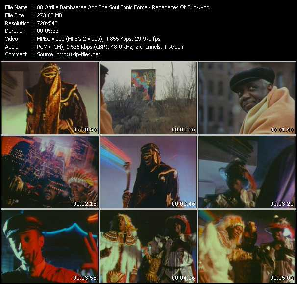 Afrika Bambaataa And The Soul Sonic Force video screenshot