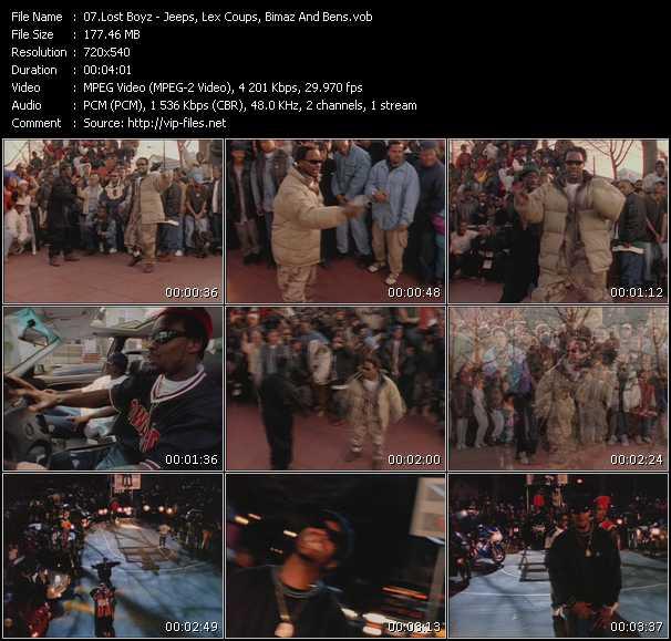Lost Boyz video screenshot