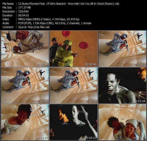 Busta Rhymes Feat. Ol' Dirty Bastard video screenshot