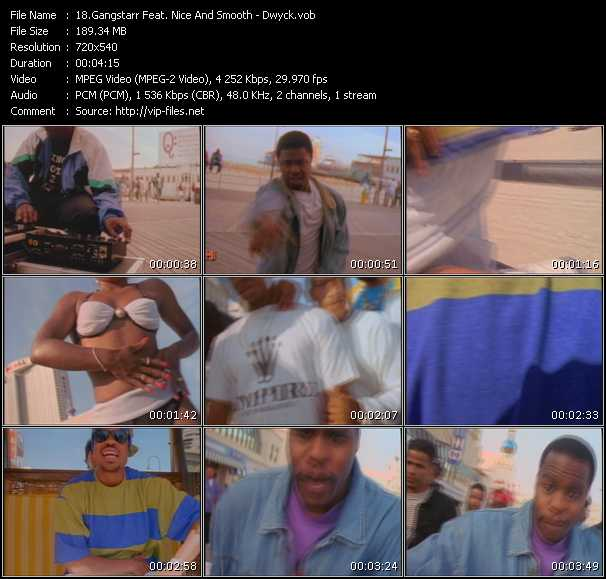 Gangstarr Feat. Nice And Smooth video screenshot