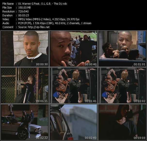 Warren G Feat. O.L.G.B. video screenshot