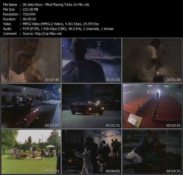 Geto Boys video screenshot