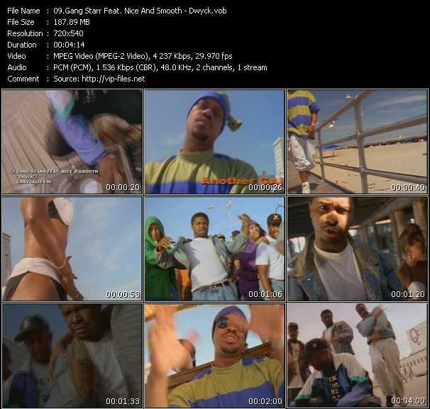 Gang Starr Feat. Nice And Smooth video screenshot