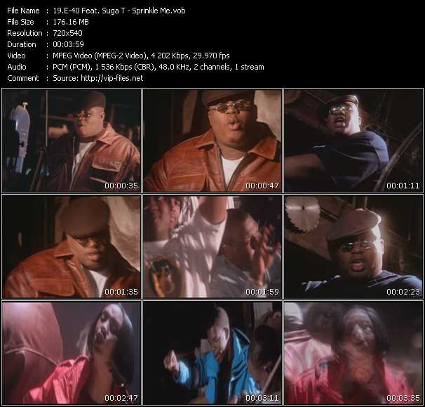 E-40 Feat. Suga T video screenshot
