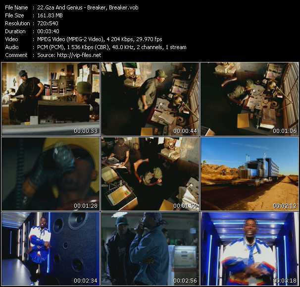 Gza And Genius video screenshot