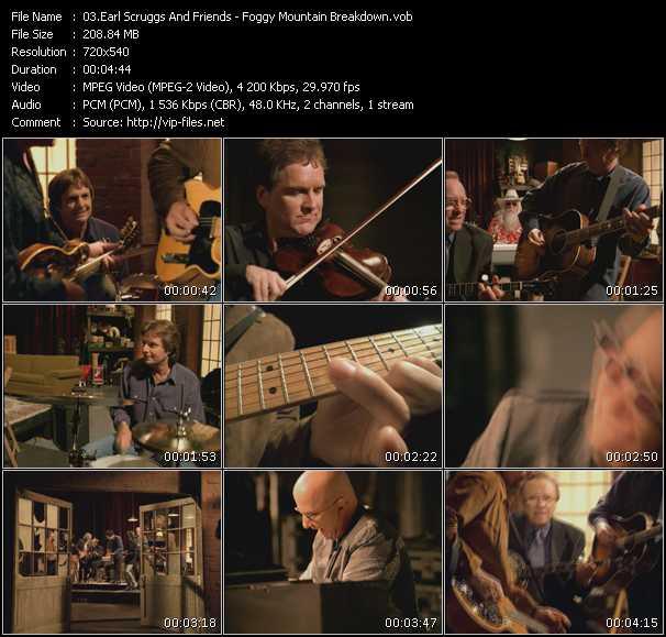 Earl Scruggs And Friends video screenshot