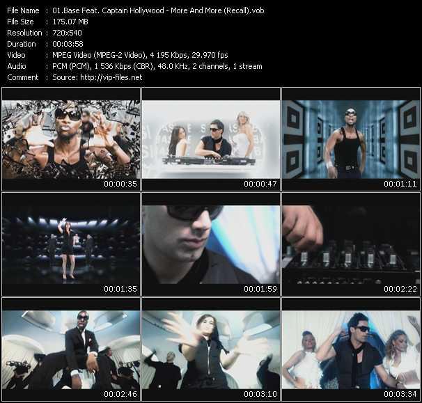 Base Feat. Captain Hollywood video screenshot