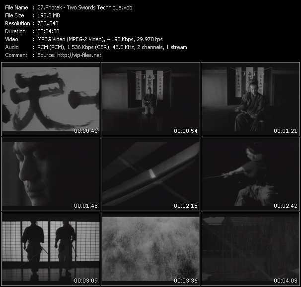 Photek video screenshot