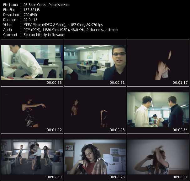 Brian Cross video screenshot