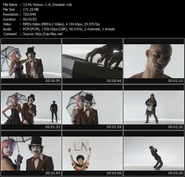 Pic Vicious video screenshot