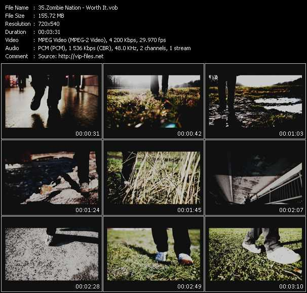 Zombie Nation video screenshot