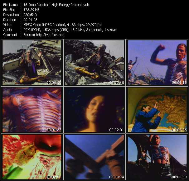 Juno Reactor video screenshot