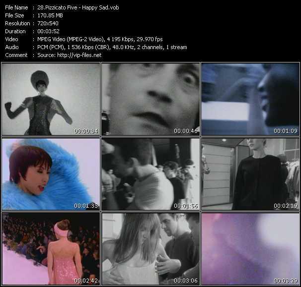 Pizzicato Five video screenshot