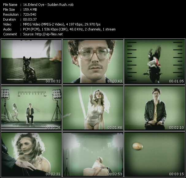 Erlend Oye video screenshot