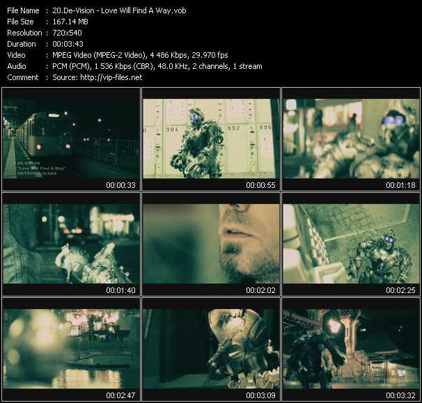 De-Vision video screenshot