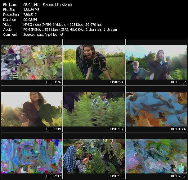 Chairlift video screenshot