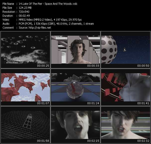 Late Of The Pier video screenshot