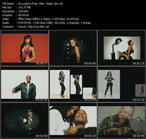Ludacris Feat. Plies video screenshot