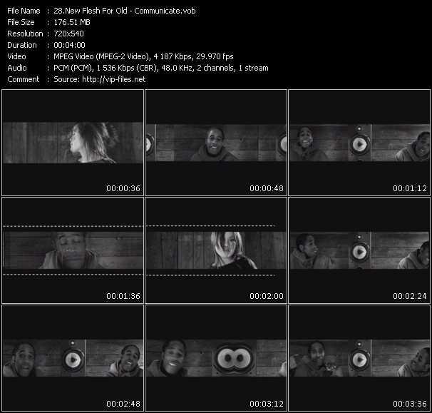New Flesh For Old video screenshot
