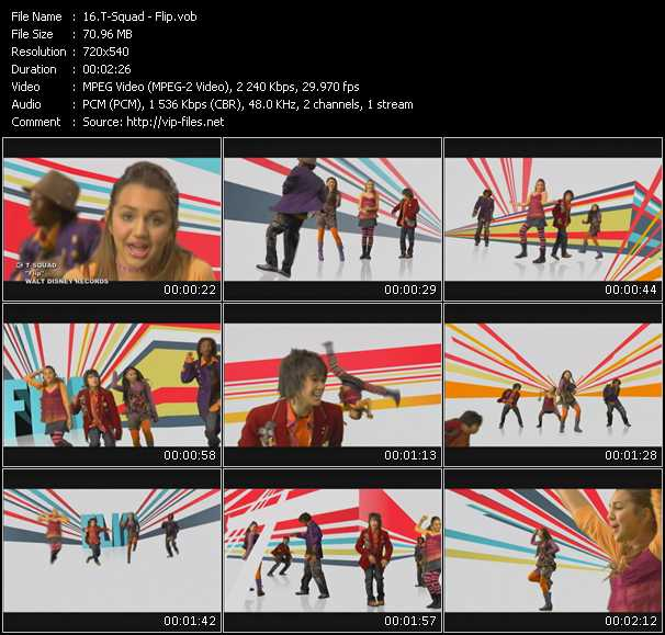 T-Squad video screenshot