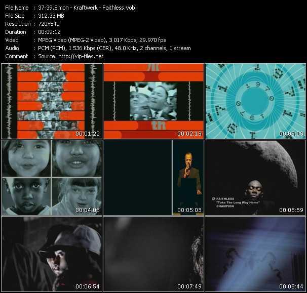 Simon - Kraftwerk - Faithless video screenshot