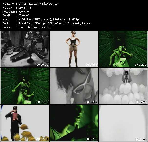 Toshi Kubota video screenshot