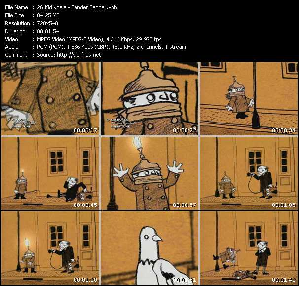Kid Koala video screenshot