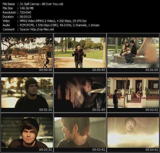 Spill Canvas video screenshot