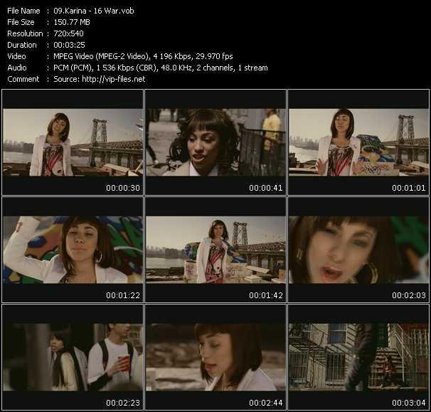 Karina video screenshot