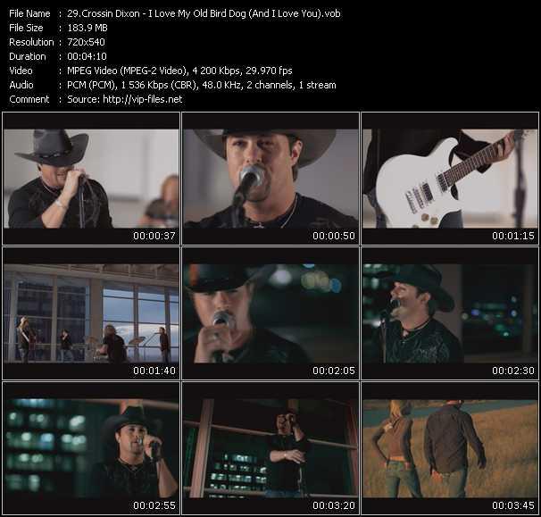 Crossin Dixon video screenshot