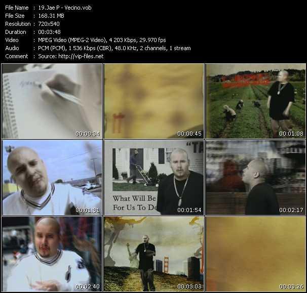 Jae P video screenshot