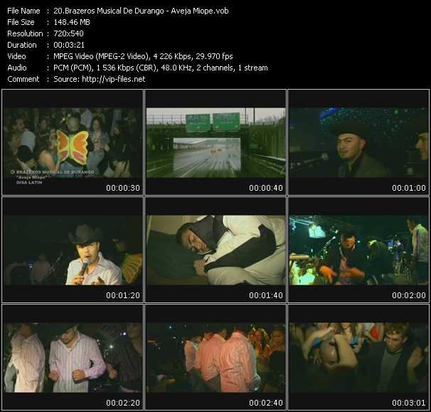 Brazeros Musical De Durango video screenshot