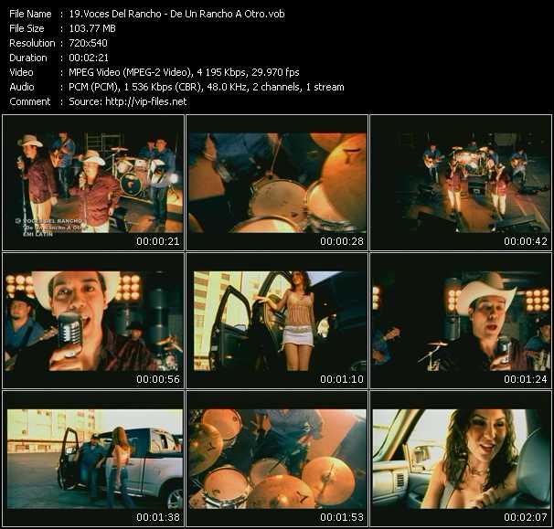 Voces Del Rancho video screenshot