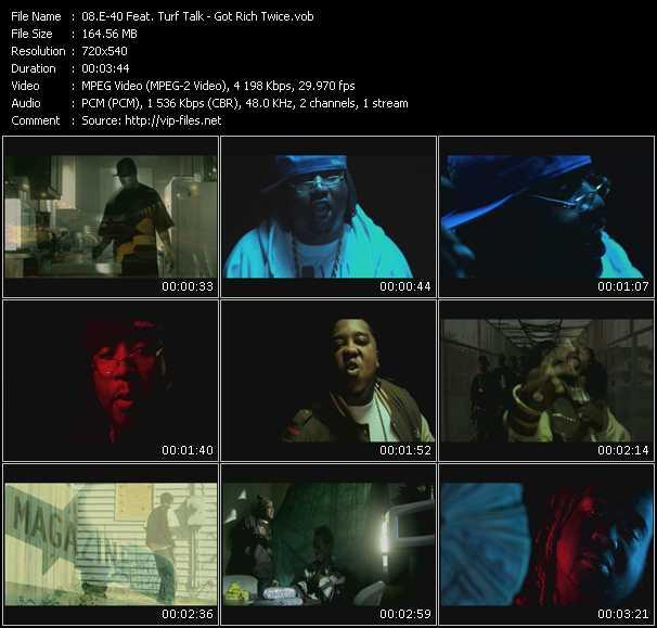E-40 Feat. Turf Talk video screenshot