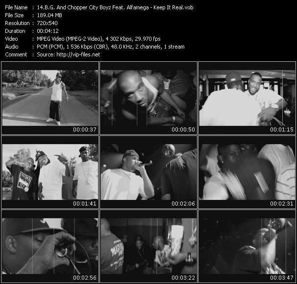 B.G. And Chopper City Boyz Feat. Alfamega video screenshot