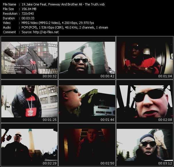 Jake One Feat. Freeway And Brother Ali video screenshot