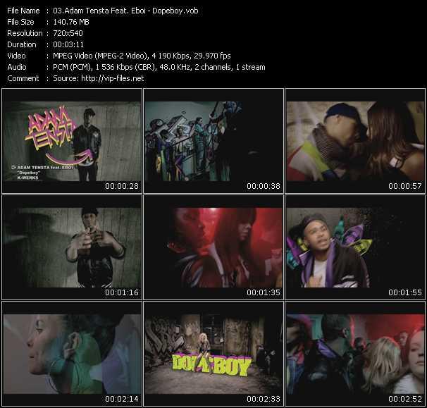 Adam Tensta Feat. Eboi video screenshot