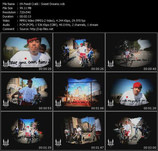 Peedi Crakk video screenshot