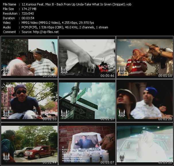 Kurious Feat. Max B video screenshot