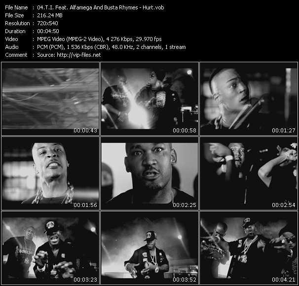 T.I. Feat. Alfamega And Busta Rhymes video screenshot