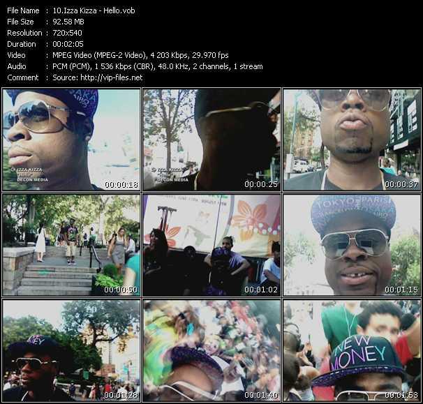 Izza Kizza video screenshot