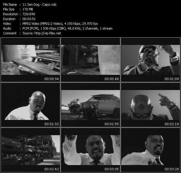 Sen Dog video screenshot